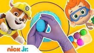 Surprise Egg Bath Bomb Fizzers w/ Toys! 🛀 PAW Patrol, Bubble Guppies & More!