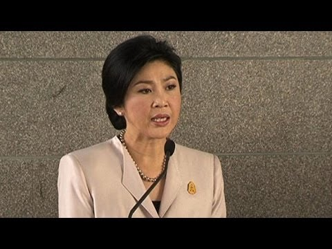 Thai PM rejects protesters' demand to step down