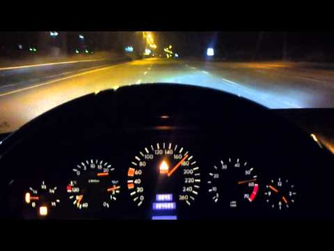 W140 S500 Acceleration