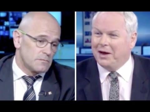 Un periodista de Sky News destroza a Romeva con solo una frase