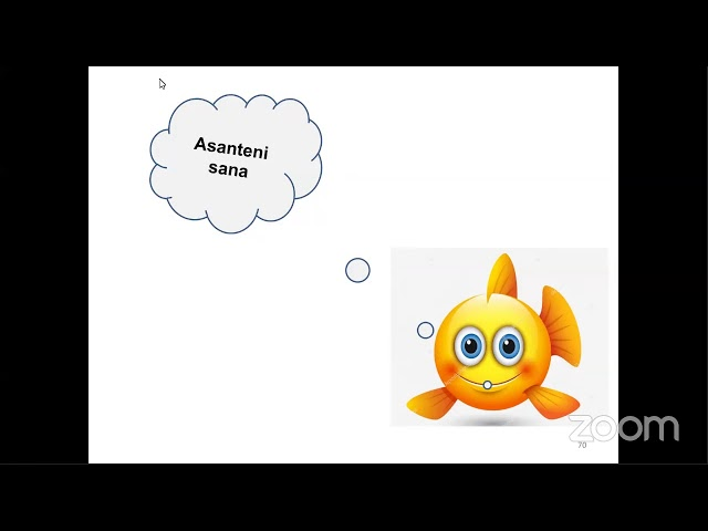 AQUA-CULTURE VALUE CHAIN SESSION