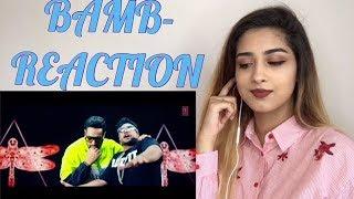 BAMB REACTION - Sukh-E Muzical Doctorz Feat. Badshah