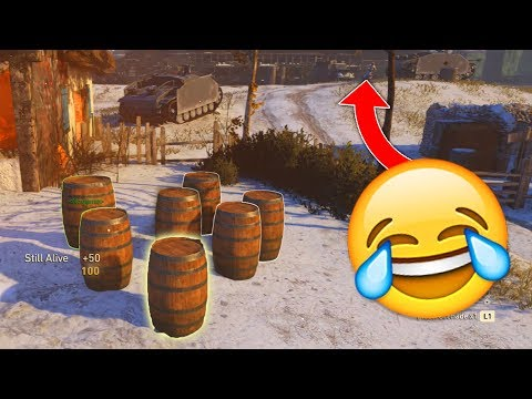 OUTSIDE THE MAP PROP HUNT!! 😱 - (COD WW2 PROP HUNT FUNNY MOMENTS)