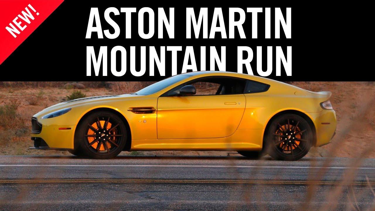 The Sounds Of The Aston Martin V12 Vantage S