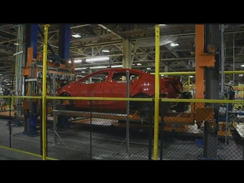How is a Chevy Cruze built at GM Lordstown?