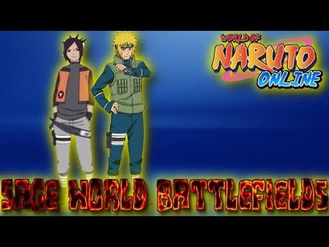 Naruto Online:  Sage World Battlefields / Minato Team Search