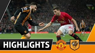 Manchester United 2 The Tigers 0 EFL Cup Semi Final 1st Leg | Highlights | 10.01.17