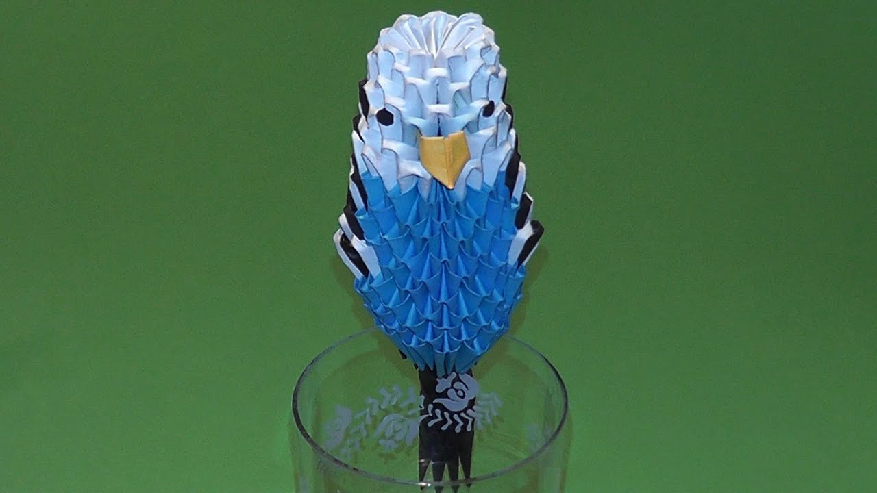 How To Make 3d Origami Bird