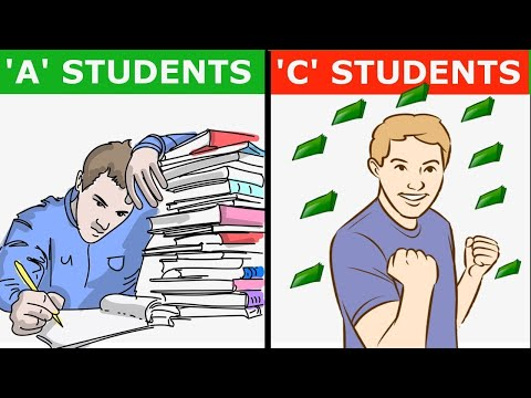 """""""WHY 'A' STUDENT WORK FOR 'C' STUDENT ?"""" 
