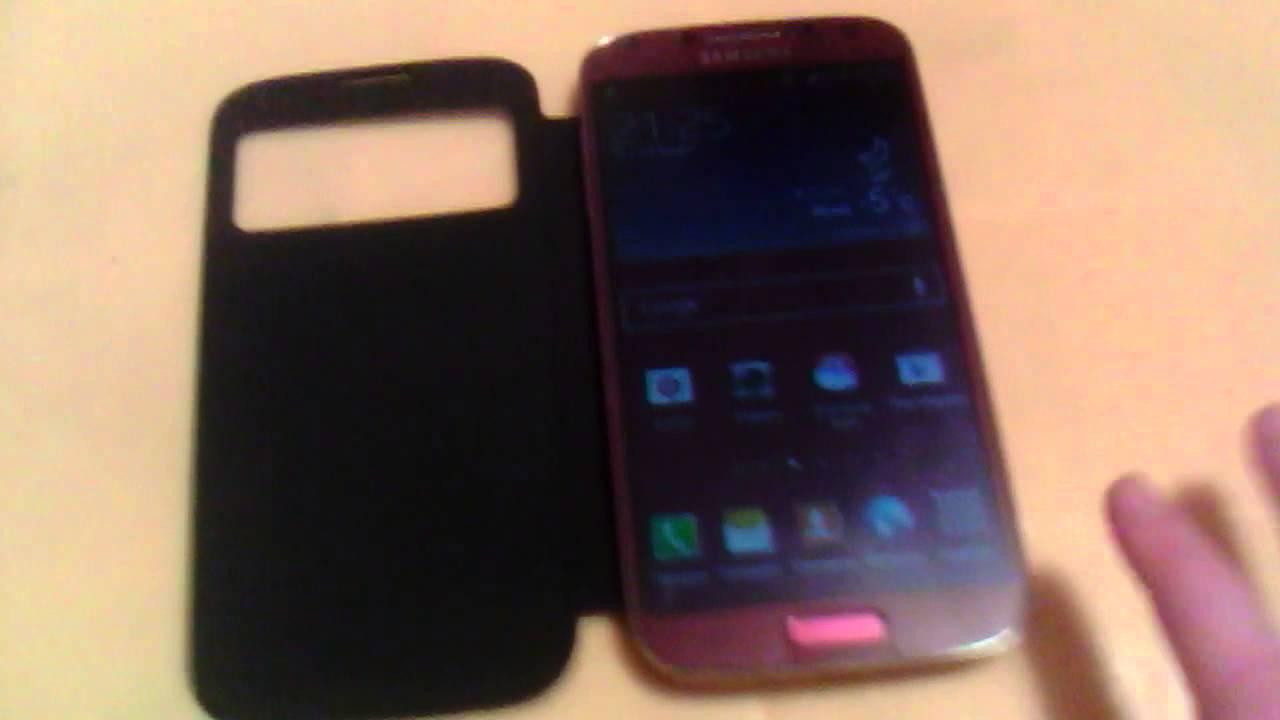 Распаковка Samsung Galaxy S4 I9500 White La Fleur - YouTube