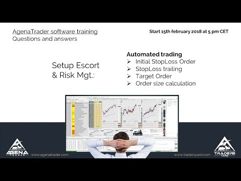 Automated Trading: Setup Escort and Risk Mgt. - AgenaTrader Software Training