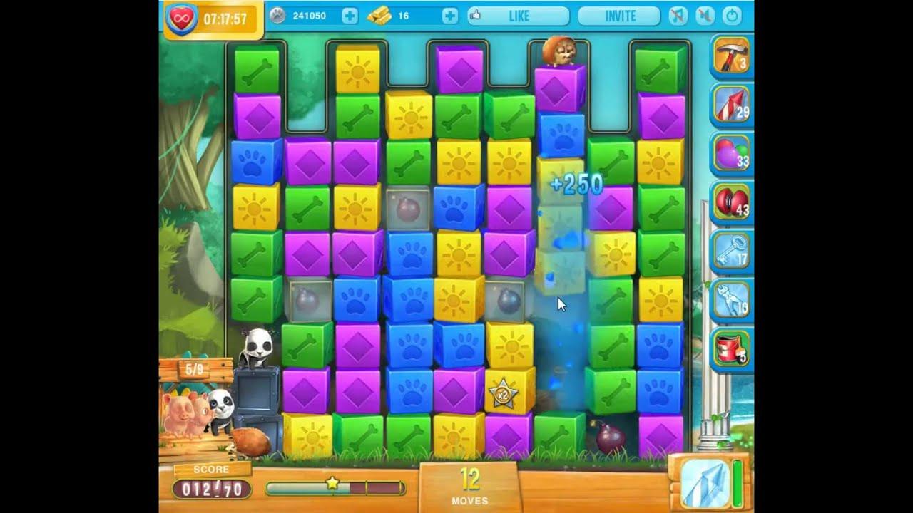 Pet rescue saga pet island level 7 1 youtube for Pet island level 4