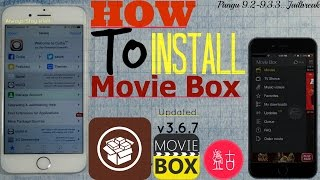 iOS 9.3.3/9.2/9.3:How To Install (MOVIE BOX)NEW v3.6.7| Watch+Download FREE TV Shows,Movies & Videos