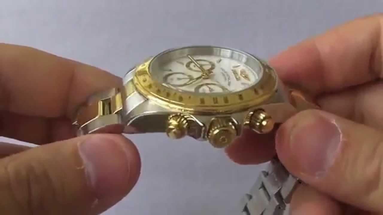 214e9f52e71 Relógio Invicta 9212 Speedway Collection Chronograph S - YouTube