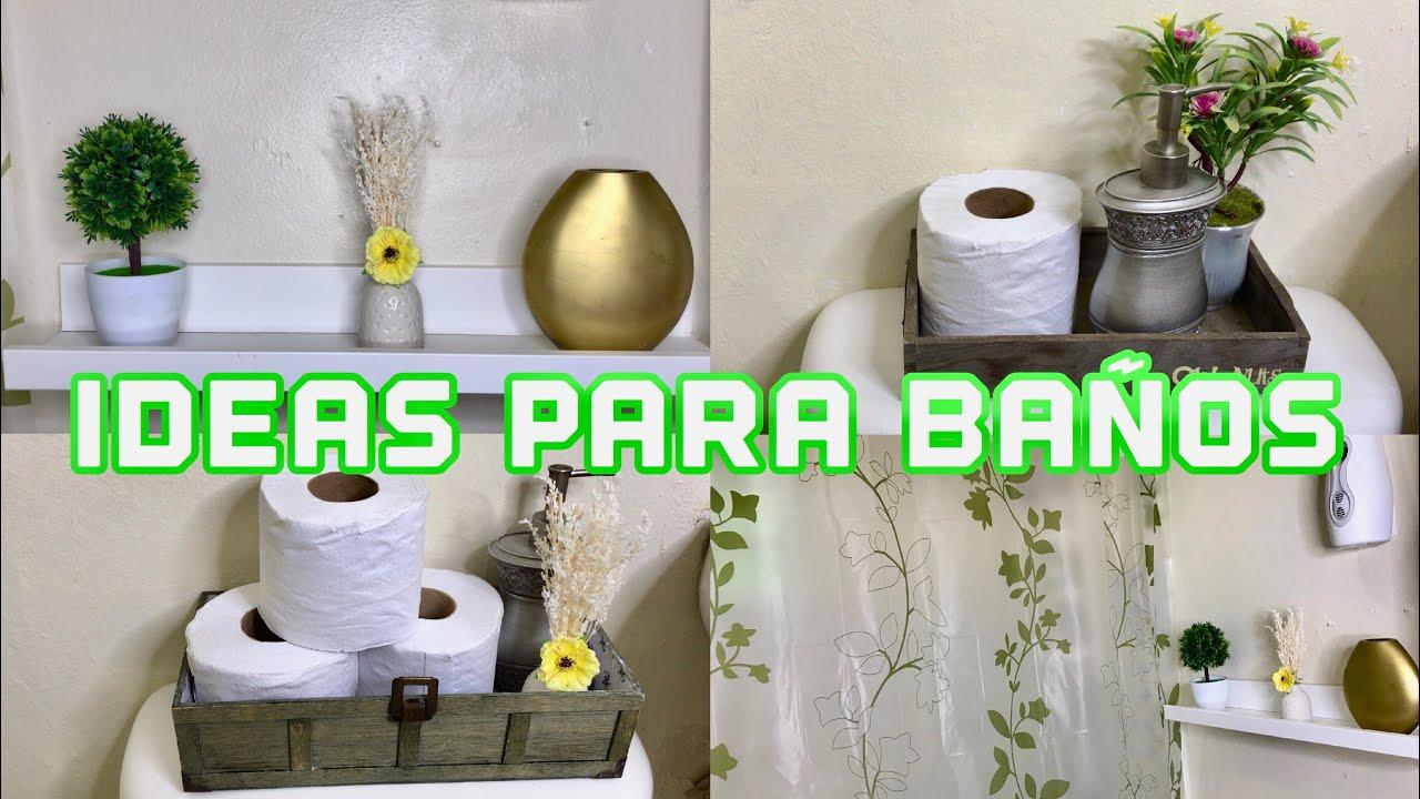 5 ideas para decorar tu ba o peque o econ mico con poco - Ideas de banos ...