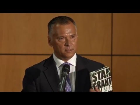 Journalist Stan Grant addresses staff of Department of the Prime Minister and Cabinet