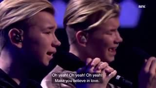 Video MARCUS & MARTINUS   MAKE YOU BELIEVE IN LOVE -TŁUMACZENIE *pl* download MP3, 3GP, MP4, WEBM, AVI, FLV Maret 2018
