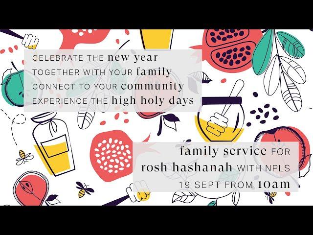 LIVE - Rosh Hashanah Family Service 5781