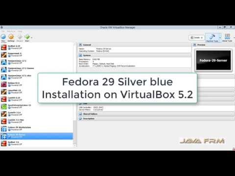 Fedora 29 Silver Blue Installation in VirtualBox 5 2 | Fedora 29 Atomic  Workstation