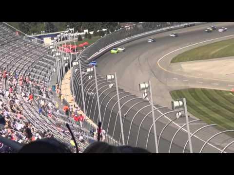 Paul Menard wins the 2014 Ollie's Bargain Outlet 250 - Michigan International Speedway