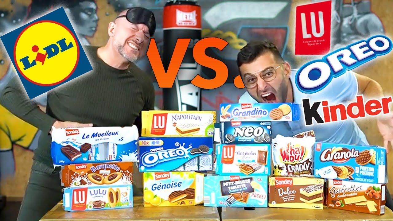Produits LIDL vs. produits de marque (@Morgan VS a validé)