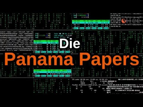 Panama Papers: Die Geheimnisse des schmutzigen Geldes