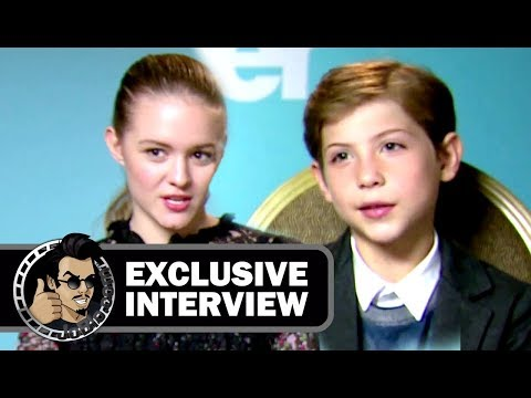 Jacob Tremblay & Izabela Vidovic WONDER Exclusive  2017 JoBlo