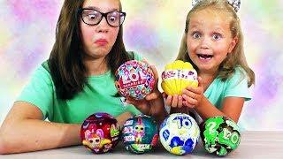 6 Нових ДИВНИХ Кульок з Ляльками ЛОЛ НОВИНКИ #4
