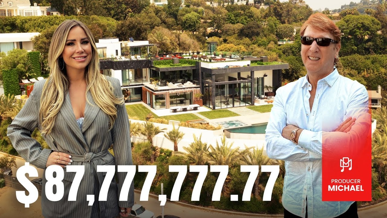 BETTER THAN 'THE ONE'?! INSIDE AN $87MILLION BEL AIR MANSION
