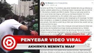 Video Penyebar Video Viral Pasangan yang Diduga Gay, Mengklarifikasi dan Meminta Maaf download MP3, 3GP, MP4, WEBM, AVI, FLV Juni 2018