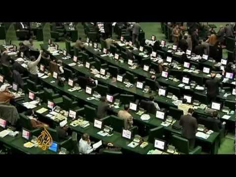Iran parliament to question Ahmadinejad
