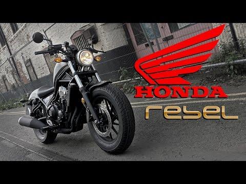 2017 Honda CMX500 Rebel Ride Review | UK | Urban and Rural Test