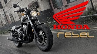 2017 Honda CMX500 Rebel Ride Review | UK | Urban and Rural Test