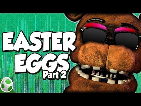 Spookimatronic - Easter Eggs in Five Nights At Freddy's (Part 2) - DPadGamer