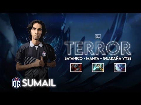 OG.Sumail Terrorblade Con VYSE - MANTA - SATANICO 7.29 (Dota 2 Pro Gameplay)