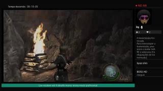 Live resident evil 4 ,1 hit reseta o jogo modo profissional