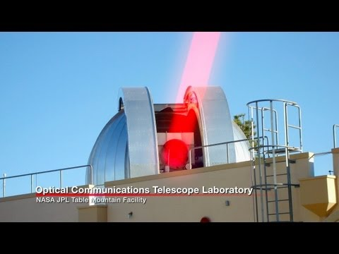 Laser Communications to Revolutionize Space Travel | NASA GSFC Satellite Bandwidth HD Video