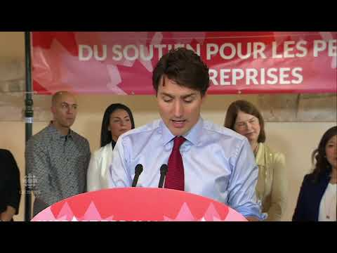 """""""I'll take them."""" - Trudeau reluctant to allow Finance Minister Morneau to answer Press questions"""
