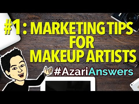 How To Market Yourself as a Freelance Makeup Artist | #AzariAnswers