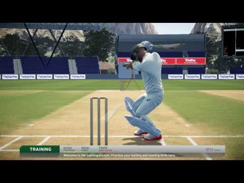Don Bradman Cricket 17 - Usman Khawaja Game Play + Kookaburra Bat
