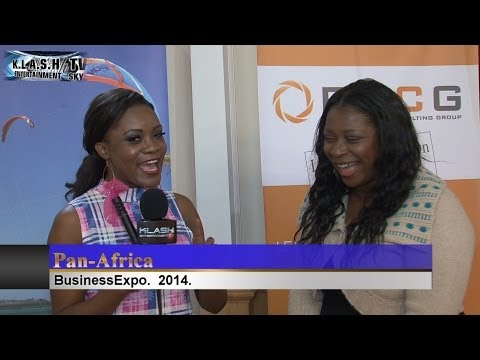 Pan African Business Expo 2014 UK Host Chanise THompson Klash Entertainment TV