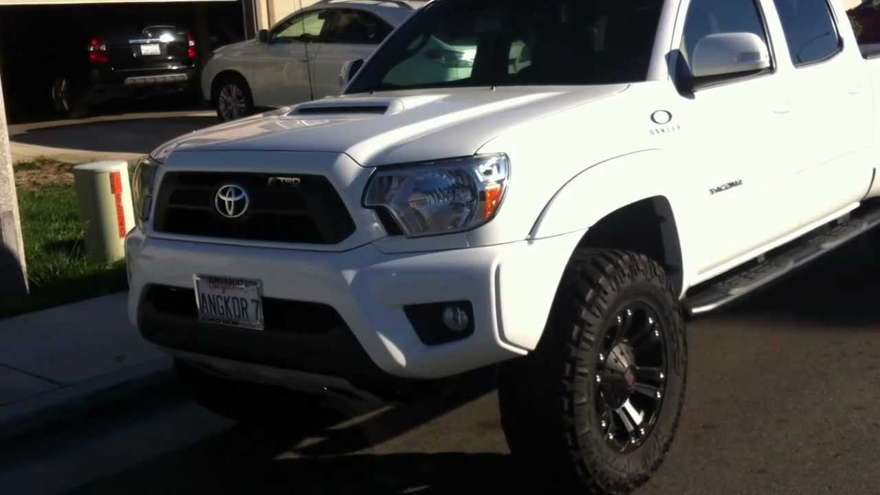 2012 Toyota Tacoma With Icon Stage Ii 3 Quot Lifted Youtube
