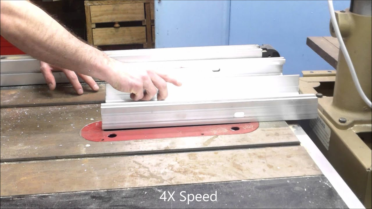 How to cutting aluminum panel on a wood table saw youtube how to cutting aluminum panel on a wood table saw greentooth Images