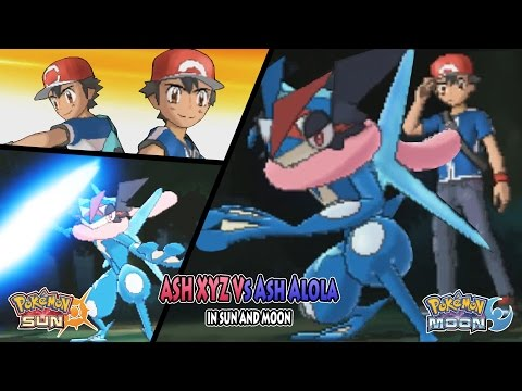 Pokemon Sun and Moon: Ash Vs Ash (Ash XYZ Vs Ash Alola)