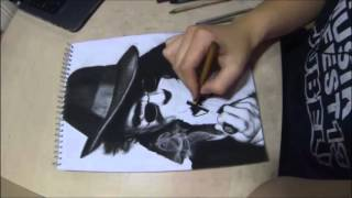 Robert Downey Jr. as Sherlock Holmes - Speed Drawing