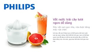 Máy vắt cam Philips HR2738 l Citrus Press Juicer Philips HR2738/01 Review