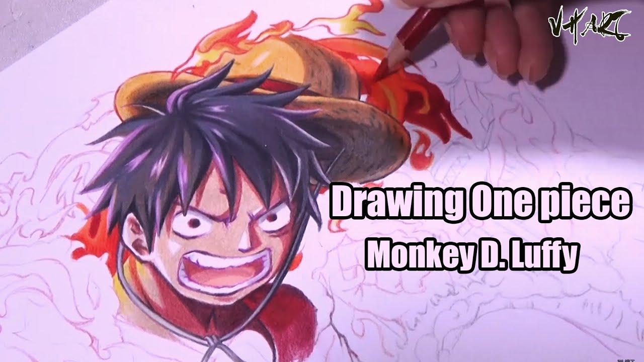 Drawing One Piece Monkey D Luffy Vh Art