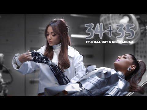 Ariana Grande - 34+35 (Remix) (feat. Doja Cat & Megan Thee Stalion) (Music Video)