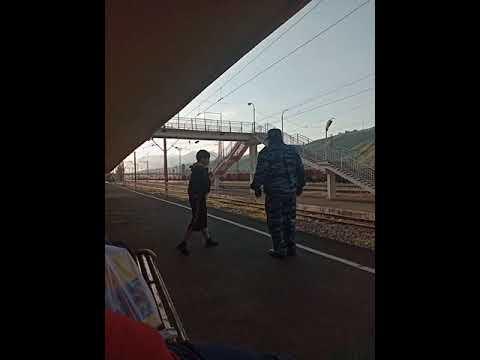 Первый поезд Армения - Грузия