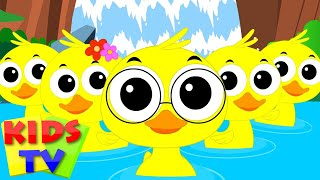 Finger Family Ducks | Nursery Rhymes For Children | kids Songs | kids Tv Nursery Rhymes For Children